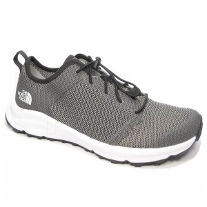 Incaltaminte Barbati The North Face Litewave Flow Lace II Gri