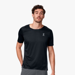 Tricou Alergare Barbati ON Performance-T Black Shadow (Negru)