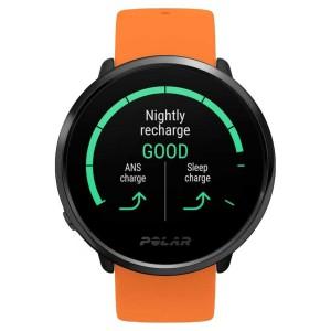 Ceas Polar Ignite Gps Orange/Black M/L Wrist HR