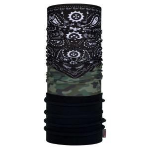 Bandana Unisex Buff New Polar Camo Cash Multi (Multicolor)