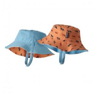 Palarie Copii Patagonia Sun Bucket Portocaliu / Bleu