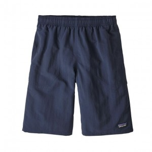 Pantaloni scurti Baieti Patagonia Baggies Longs Bleumarin