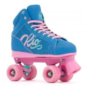 Patine cu rotile Rio Roller Lumina Blue/Pink (Albastru)