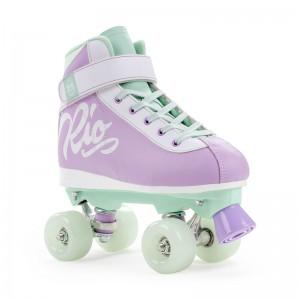 Patine cu rotile Rio Roller Milkshake purple/green (Mov)