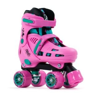 Patine Cu Rotile Copii SFR Storm IV Pink/Green (Roz)