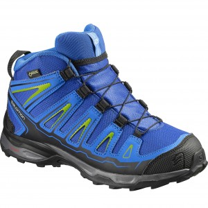 Incaltaminte Hiking Salomon X-Ultra Mid GTX K Albastru