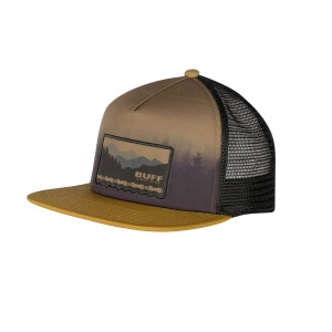 Sapca Unisex Buff Trucker Cap Anwar Brown (Maro)
