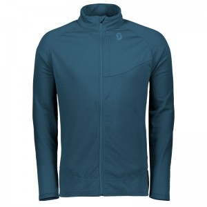 Bluza Midlayer Scott Defined Polar M Bleumarin