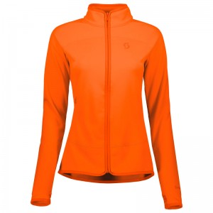 Bluza Midlayer Scott Defined Tech W Portocaliu