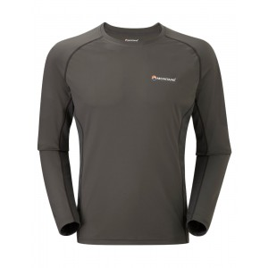 Bluza First-Layer Montane Sonic L/S M Gri