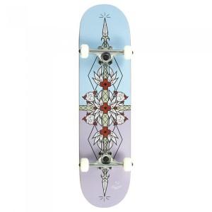 Skateboard Enuff Flash Purple/Blue 32x8 inch Multicolor