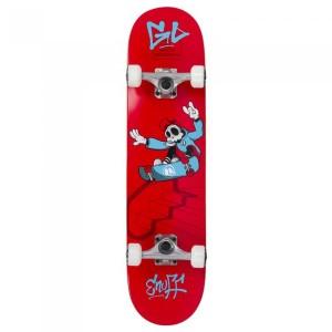 Skateboard Copii Enuff Skully Mini Red 29.5x7.25 inch Rosu