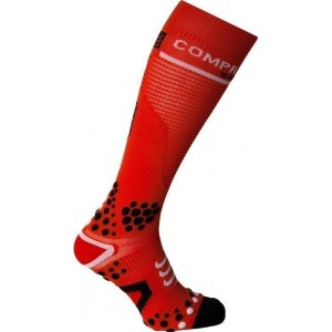 Sosete compresie Compressport Full Socks V2 Red