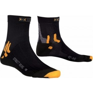 Sosete X-Socks Street Biking Black/Orange