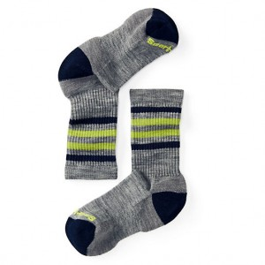 Sosete Smartwool Stripe Hike Light Crew K Gri