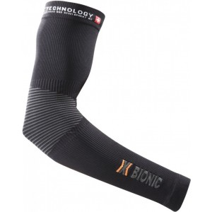 Incalzitoare maini X-Bionic Biking OW Arm Warmer DX/SX No Seam Black