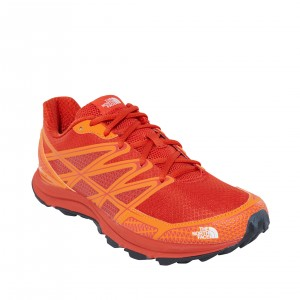 Incaltaminte alergare The North Face Litewave Endurance M Portocalie
