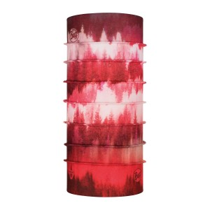 Bandana Unisex Buff Thermonet Misty Woods Blossom Red (Rosu)