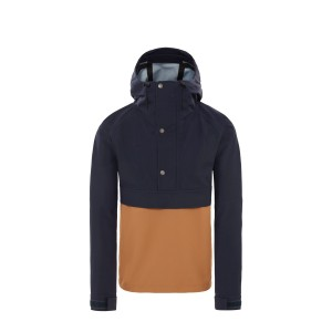 Geaca Barbati The North Face M Windjammer Waterproof Jacket-EU Urban Navy/Cedar Brown (Bleumarin)