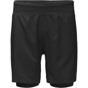Pantaloni scurti Barbati Alergare The North Face Flight Series Better Than Naked Long Haul Negru