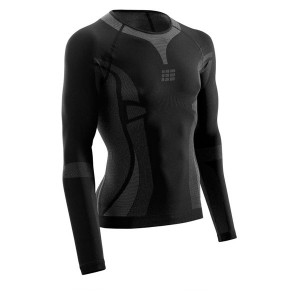 Bluza Compresie CEP Active Ultralight M Negru