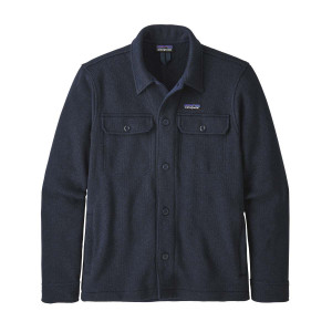 Camasa Polar Barbati Patagonia Better Sweater Shirt New Navy  (Bleumarin)