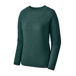 Bluza First Layer Femei Patagonia Capilene Air Crew Piki Green  (Verde)