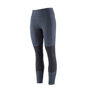 Colanti Drumetie Femei Patagonia Pack Out Hike Tights Bleumarin
