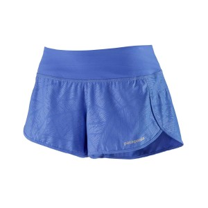 Pantaloni Scurti Alergare Femei Patagonia Strider Shorts - 3 1/2 in. Albastru