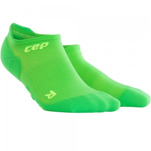 Sosete Alergare CEP Dynamic+ Run Ultralight No-Show W Verde / Verde