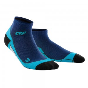 Sosete Alergare CEP Dynamic+ Run Low-Cut W Bleumarin / Albastru