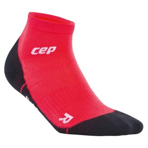 Sosete CEP Dynamic+ Outdoor Light Merino Low-Cut W Visiniu