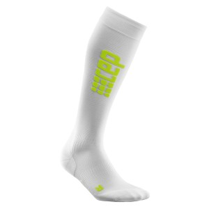 Sosete Compresie CEP Progressive+ Ultralight Compression Run M Alb / Verde