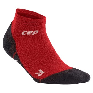 Sosete CEP Dynamic+ Outdoor Light Merino Low-Cut M Visiniu