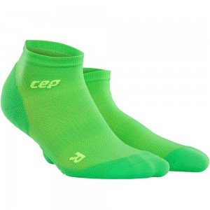 Sosete Alergare CEP Dynamic+ Run Ultralight Low-Cut M Verde / Verde