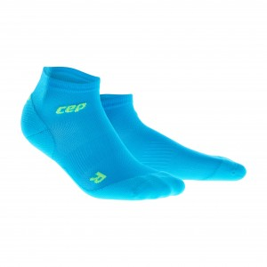 Sosete Alergare CEP Dynamic+ Run Ultralight Low-Cut M Bleu / Verde