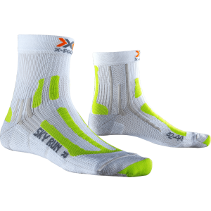 Sosete X-Socks Sky Run Two Alb / Lime