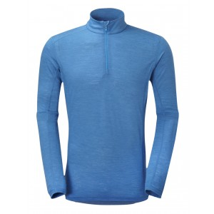 Bluza First-Layer Montane Primino Zip 140g M Albastru
