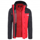 Geaca Drumetie Barbati The North Face Quest Triclimate Jkt Tnf Red/Tnf Black (Rosu)