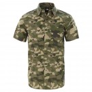 Camasa Barbati The North Face M Short Sleeve Baytrail Pattern Shirt Burnt Olive Green Ponderosa Print (Kaki)