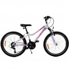 """Bicicleta Copii Omega Angle 24"""" Alb"""