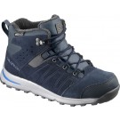 Incaltaminte Hiking Salomon Utility Thinsulate CS WP J Albastru