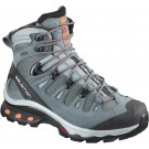 Ghete Femei Hiking Salomon Quest 4D 3 GTX Gri / Mint / Negru