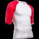 Tricou Compressport On/Off Multisport White Red