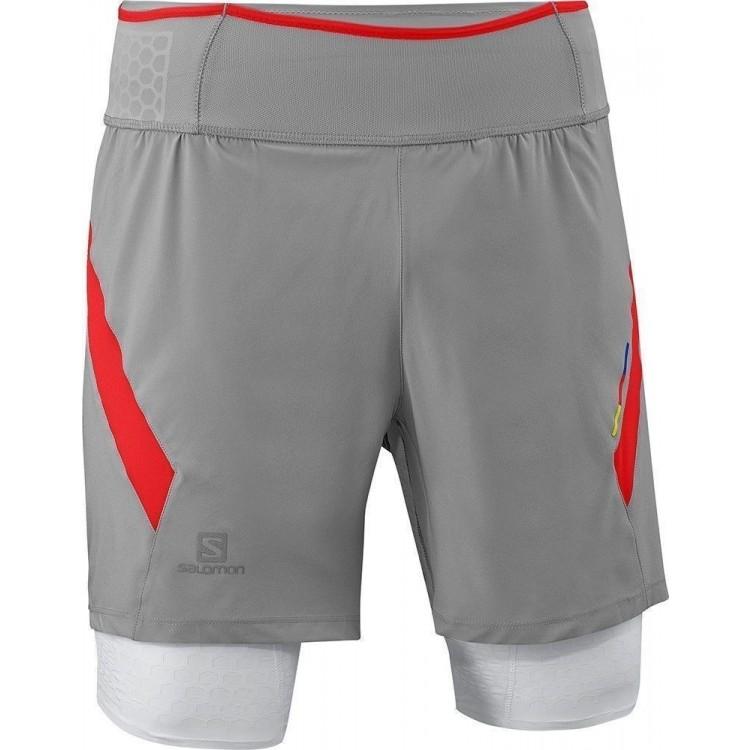 Pantaloni Scurti Compresie Salomon Exo S-Lab TW Short M Grey aee7a65f96cd