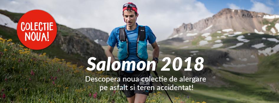 Colectia de alergare Salomon 2018